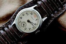Rare Vintage Russian Soviet watch POBEDA RED12 1MChZ CCCP USSR 15j N75582