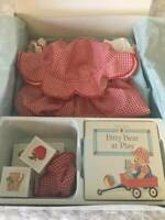 RARE 1995 Bitty Baby American Girl Pleasant Company Fun In The Sun Blocks Shoes