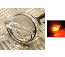 MOTORCYCLE FLARE LED REAR LIGHT - 55mm Lens Motorbike Brake Tail Light RLTLED03