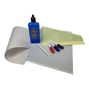 DCtattoo - Complete PREMIUM Tattoo Stencil Kit Carbon Transfer Fluid Skin Marker