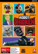 Robot Chicken: Season 8  - DVD - NEW Region 4