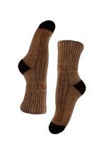 Mongolian Brown Yak Male Socks