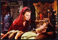 El Caída Dell'Imperio Romano Sophia Loren Omar Sharif B Manifesto S06