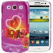 Hardcase rose pattern para Samsung i9300 Galaxy s3 día de san valentín/Love funda