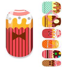 Nail Wraps Art Sticker Aufkleber Finger Nagel Folie Design Süßigkeit Sweet Candy