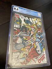 X-Men #5 CGC 9.4 WP 1992 1st Maverick (Christoph Nord) Omega Red!