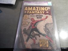 The Amazing Fantasy #15 CGC 2.5 R - MOD 1ST SPIDERMAN, AUNT MAY AND UNCLE BEN