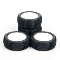4X RC 1:10 Off-Road Buggy Car Fit 12mm Hex Rubber Tires Front Rear Wheel Rim