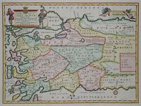 Türkei - A New Map of the Western Parts of Asia Minor -Edward Wells 1700 -Turkey