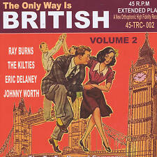 ERIC DELANEY, RAY BURNS, JOHNNY WORTH + 1 BRITISH ROCK 'N' ROLL Volume 2 JIVE EP