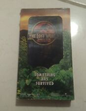 The Lost World Jurassic Park (Vhs, 1997, Widescreen) Video Tapes Movies 90s Film