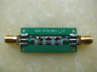 433MHZ Low-Pass Filter LPF RF HF Radio Lowpass 7th-order Elliptic Function 470M