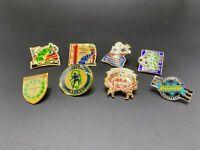 Vintage Lot of Eight Soccer Pinbacks 1990's Pins East Coast