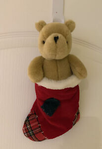 """GUND Winnie The Pooh In Christmas Stocking Classic Pooh 10"""""""