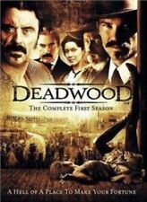 Timothy Olyphant Ian MacShane Deadwood Season 1 HBO Wesern Series UK DVD