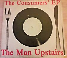 """LP THE MAN UPSTAIRS  The Consumers'EP   private  Minimal  Wave Vinyl 12"""" RARE"""
