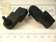 Jeu de 2 butées caoutchouc inférieures de pare-pierres pour Peugeot 203