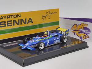 """Minichamps 547824302 # Ralt Toyota RT3 1st F3 Win Thruxton """" Ayrton Senna """" 1:43"""