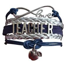 Infinity Collection Teacher Bracelet, Teacher Jewelry, Teacher Gift