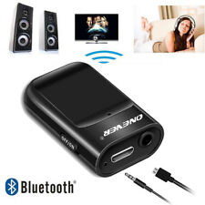 ONEVER 2 in 1 Wireless Bluetooth Audio Receiver HIFI Music Adapter AUX A2DP