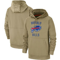 Buffalo Bills Football Hoodie 2019 Salute to Service Sideline Pullover Coat