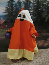 "Halloween Candy Corn Costume for 18"" Dolls Clothes American Girl Handmade USA"