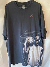 Vintage Nike Jordan 61xty CHRIS PAUL CP3 Papa Chili T-shirt Men 2XL RARE NBA