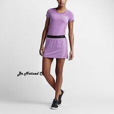 Nike Converge Seamless Women's Golf Skort Skirt XS Purple  Gym Training New