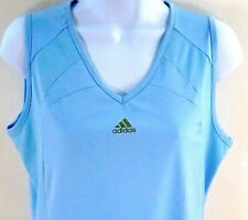 Adidas Vented Mess V-Neck Shirt Tank Top Workout Athletic Training Exercise