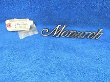 1974-75 MERCURY MONARCH  SCRIPT EMBLEM BADGE  NOS FORD 217