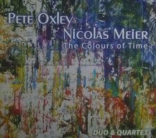 2erCD PETE OXLEY / NICOLAS MEIER - the colours of time, ovp