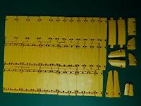 46x New Genuine Yellow Technic panels 15458 64782 18945 18944
