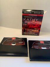 Kathy Reichs Audiobooks Break No Bones 10 Disc Set Used