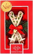 LenoxHoliday Skis Ornament #869892 Christmas Tree Ornament New Boxed