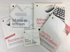 Livre / Manuel d'utilisation Apple - Lot Macintosh Performa 600 & 630