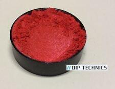 Polvo De Perla Rojo Radiante Pigmento en Polvo Pintura Plasti Dip Nail Art Mica 25g