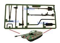 Heng Long 3888-039 Shovel Axe Accessory Surface Part for 1/16 RC Battle Tank SET