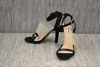 **Karl Lagerfeld Paris Raya Heeled Sandals, Women's Size 6.5 M, Black