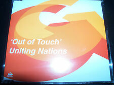 Uniting Nations Out Of Touch Australian 6 Track Remixes CD Single