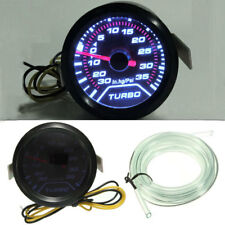 2″52mm Car Truck Digital PSI Turbo Boost Gauge Pressure Meter Kit W/Blue LED Hot