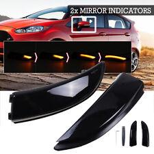 Dynamic Turn Signal LED Side Mirror Indicator Lights For Ford Fiesta B-Max MK7