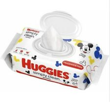 Huggies Simply Clean Baby Wipes Unscented ** 1 Pack of 64 Count**
