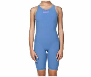 Arena Powerskin R-EVO One Women's Open Back Racing Swimsuit, Size 28