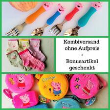 Peppa Wutz Tasche Besteck Kinder Herbst Geschenk Pig Kinderbesteck Rucksack