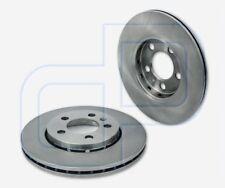 2 discos de freno VW Polo 6n1 100 1.4 16v delante//eje delantero Ø 256 mm ventilado