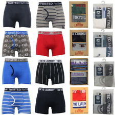 Tokyo Laundry Regular Size Striped Underwear for Men