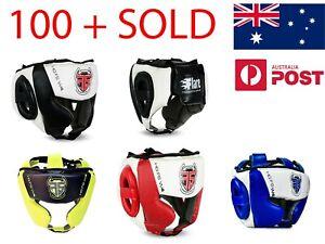 Flare Head Guard Helmet Headgear KickBoxing Protective Gear MMA Face Protection