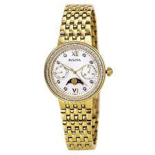 Bulova Corporation 98R224 Womens Quartz Stainless Steel Dress Watch