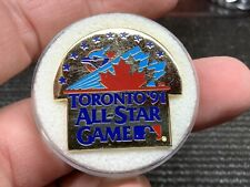 "1991 Toronto Blue Jays ""Balfour""Gorgeous Design Vintage All Star GamePress Pin."
