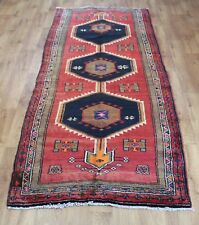 OLD WOOL HAND MADE  ORIENTAL FLORAL RUNNER AREA RUG CARPET 305x110CM